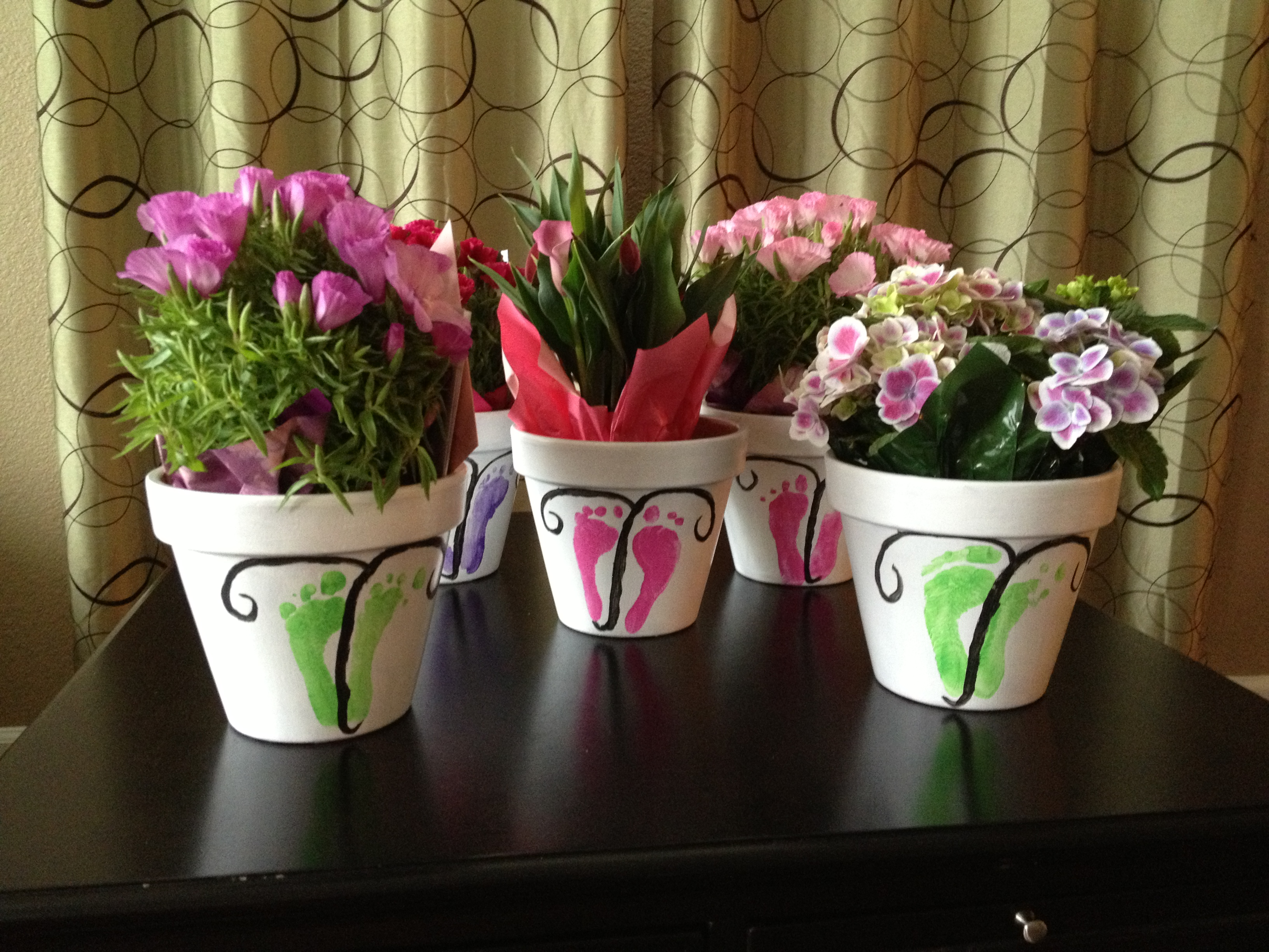 Mothers day cheap flowers pcs real touch artificial flowers mothers day cheap flowers i let my girl choose which color butterfly and which flowers would go to each grandma izmirmasajfo
